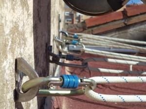Plaqueta inox Fixe, Para anclajes por expansión 12mm. EN 795-A.